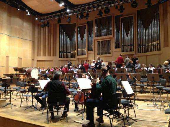 Starting rehearsals for the Verdi Requiem